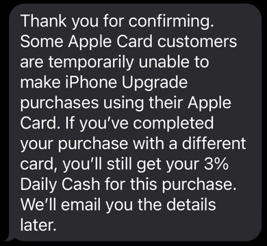 An Apple service agent supposedly posted this comment - Apple has egg on its face as Apple Card snafu pushed back iPhone 13 delivery times