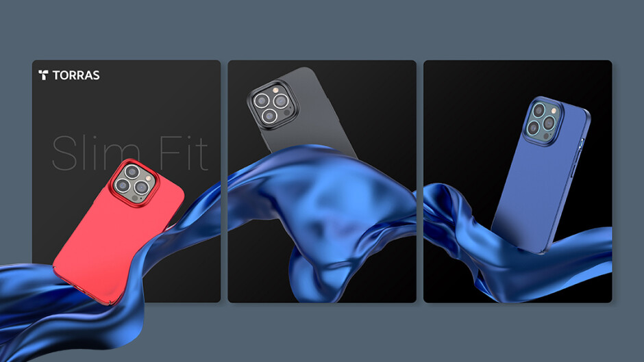 Thin, light, and subtle, yet sturdy - Torras cases: stock up on stylish cases for your iPhone 13