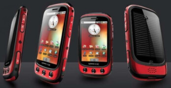 The Umeox Apollo uses solar power to get the Android device running