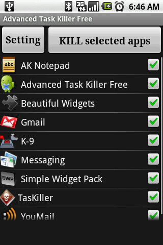 Advanced Task Killer - Great task managers for Android