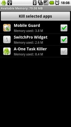 Super Task Killer 2011 - Great task managers for Android