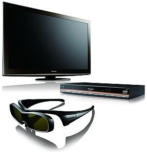 Most of today's 3D TVs require active shutter glasses