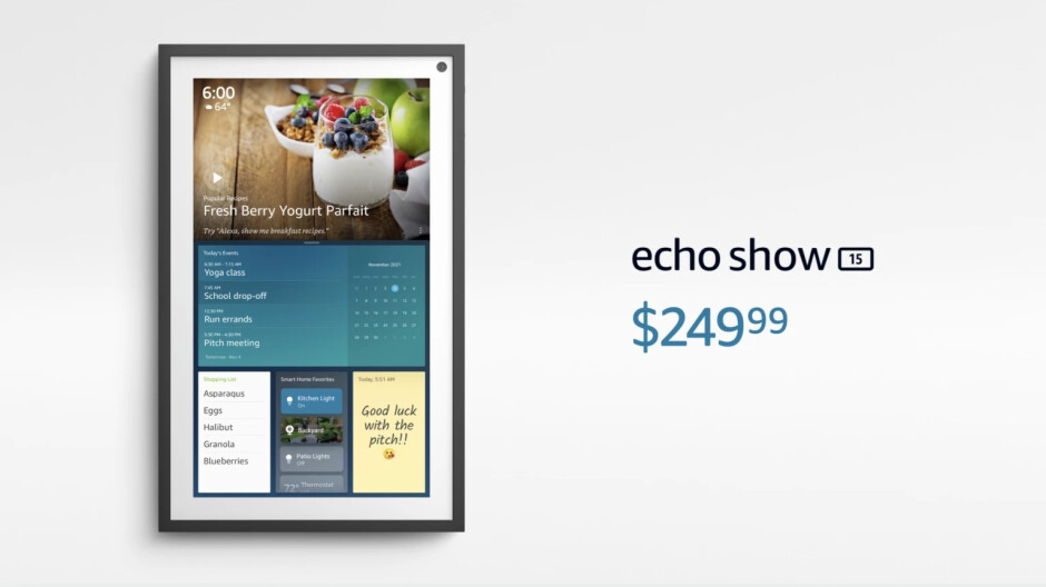 The Echo Show 15 is Amazon's largest, most expensive smart display