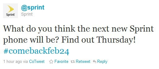 Sprint's HTC 7 Pro is gearing up for an official announcement this Thursday?