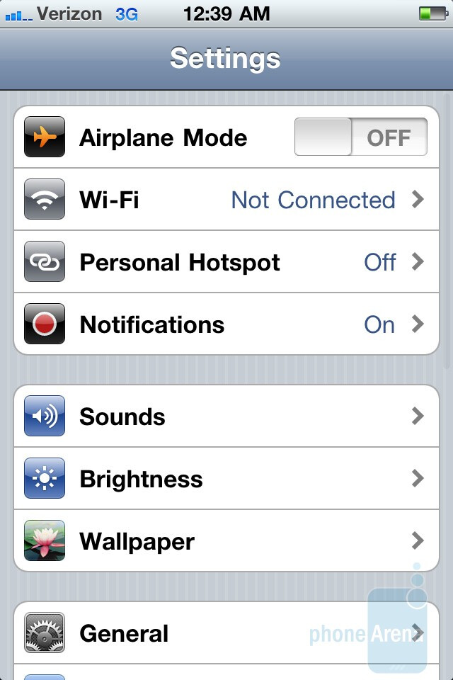 The mobile hotspot function of the Verizon iPhone 4 - Verizon iPhone 4 Mobile Hotspot demo