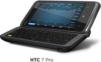 HTC Arrive is re-branded HTC 7 Pro for Sprint
