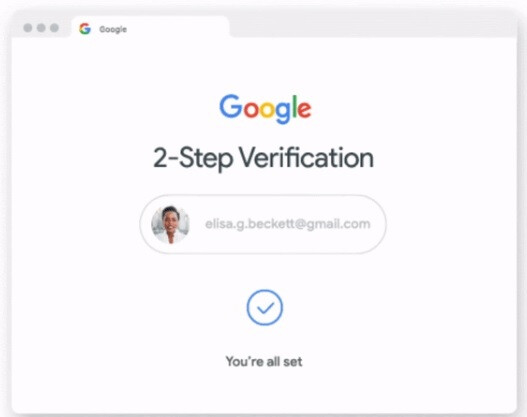 Using two-step verification will add protection against hackers - Google will enable two-step verification by default on 150 million accounts before year's end