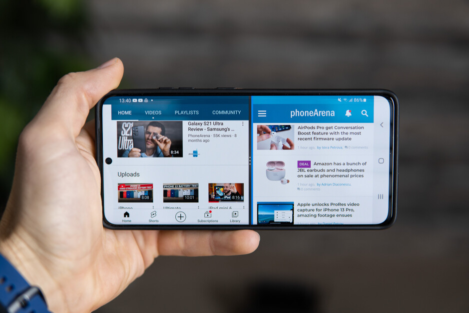 Basically all modern Android phones support split screen multitasking - The iPhone 13 still lacks these Android power user features, but why?