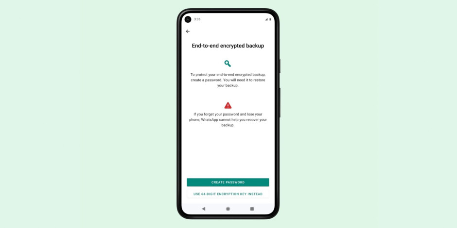 WhatsApp beta for iOS brings the long-awaited end-to-end encrypted backups