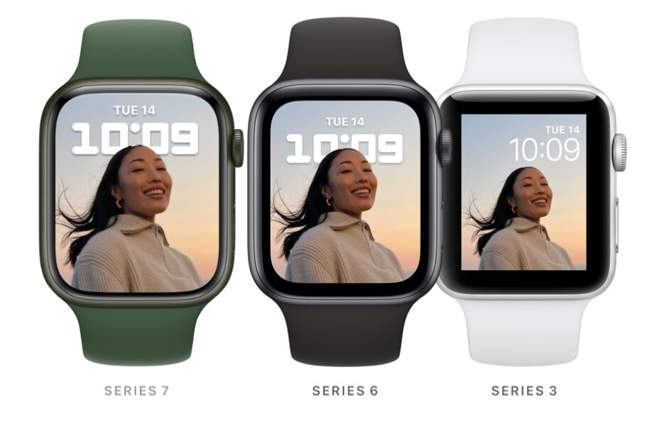 Apple increased the screen size by 1mm on both Apple Watch Series 7 variants - Apple Watch Series 7 pre-order delivery dates are pushed back to as long as December