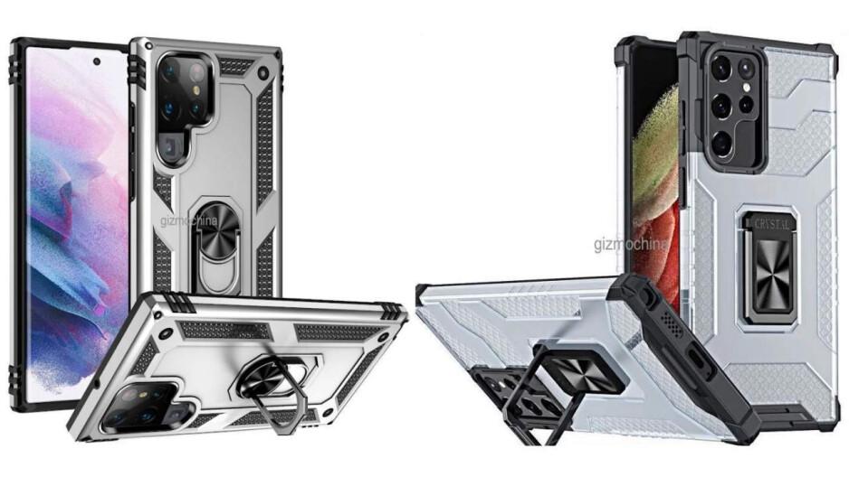 Samsung S22 Ultra case renders show an S-Pen slot
