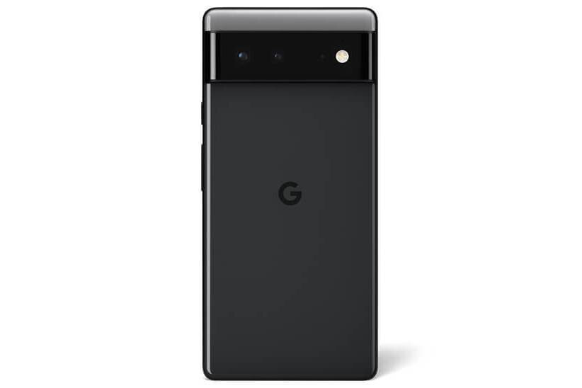 Pixel 6 in Stormy Black - Leaked images show the differences between the two Pixel 6 models