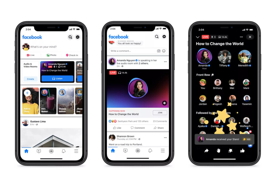O Facebook cria um novo hub de 'Áudio' para ouvir conteúdo