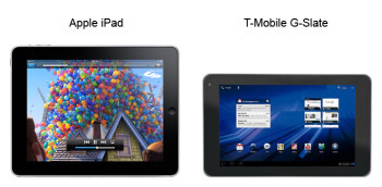 Tablets in S, M, L: size comparison
