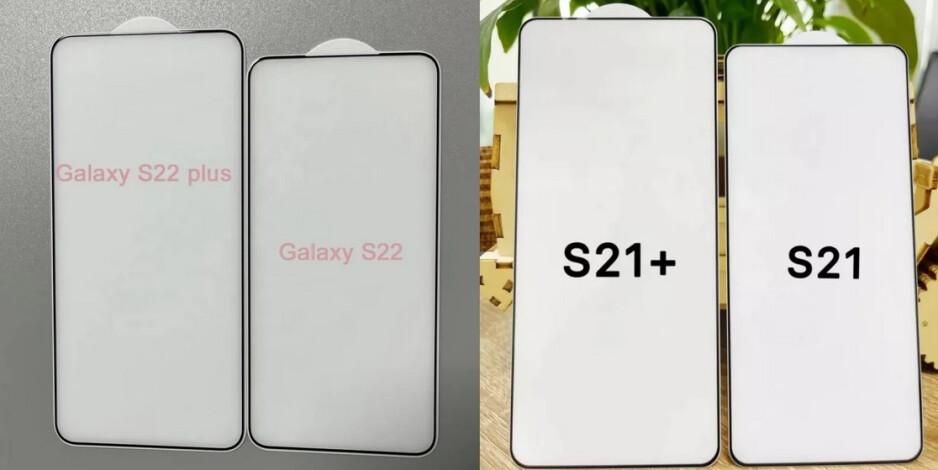 Se dice que la película protectora de vidrio templado del Galaxy S22 y Galaxy S22 + muestra una pantalla más corta y más ancha en comparación con el modelo del año pasado.Samsung Twitter reveló cambios importantes en la pantalla del Galaxy S22 5G.