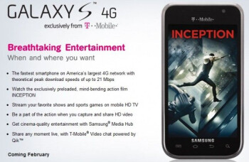 Samsung Galaxy S 4G available on Amazon for $129.99