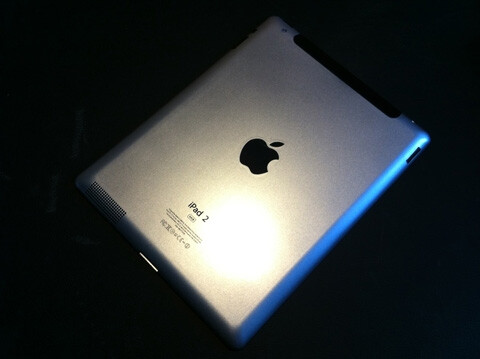 The Apple iPad 2 is smaller than the first model with a camera on the top upper left of the back - New pictures of Apple iPad 2 leak