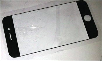 Presumed front panel for the next iPhone leaked, Retina Display moniker feels threatened