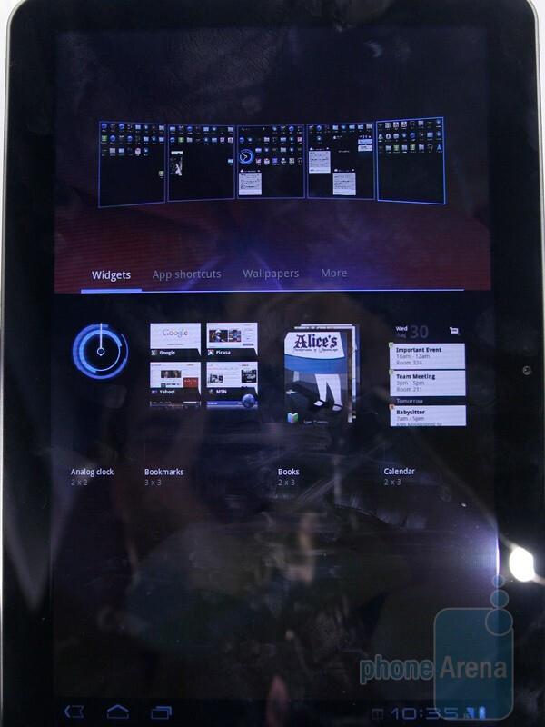 Samsung Galaxy Tab 10.1 hands-on at MWC 2011