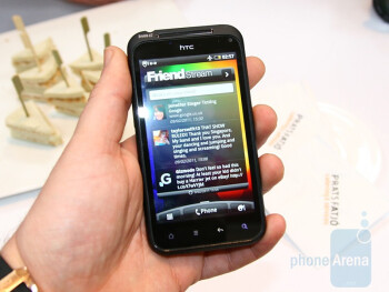 HTC Incredible S Hands-on