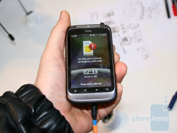 HTC Wildfire S Hands-On