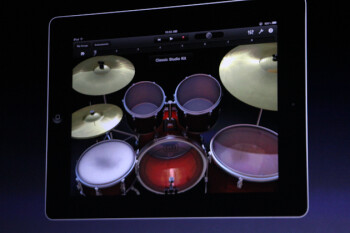 GarageBand for iPad will feature touch instruments, 8-track mixing studio and more
