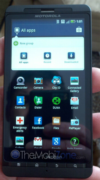 Is this the mystery device from Motorola that visited the FCC? Image courtesy of The MobiZone