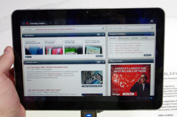 Just back from visiting the FCC, here is the Samsung Galaxy Tab 10.1