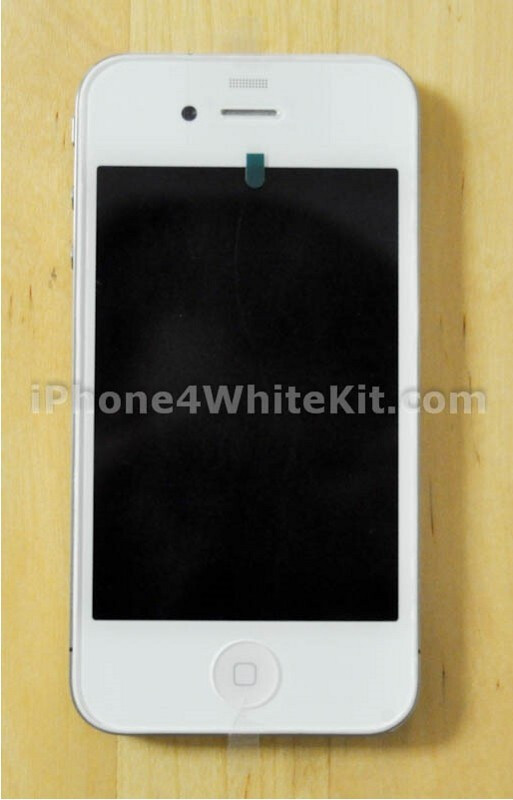 iPhone 4 made white with aftermarket conversion kit - Hong Kong's grey market leaks a 64GB iPhone 4 prototype, Chinese blog entertains the white version once more