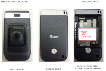 Unnamed rugged style flip set from Motorola bound for AT&T is spotted over at the FCC