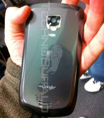 Verizon's Samsung Droid Charge caught in the wild