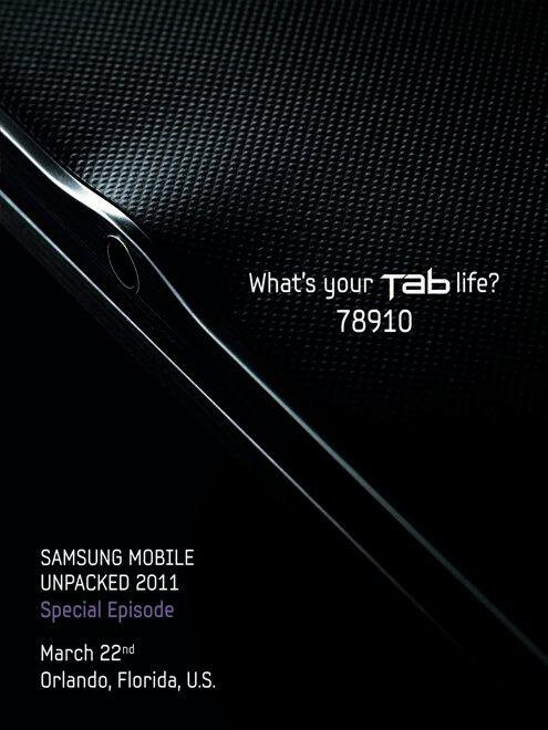 Samsung to launch an extremely slim 8.9-inch tablet on March 22nd?