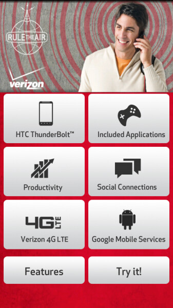 HTC ThunderBolt 'device showcase' app graces the Android Market