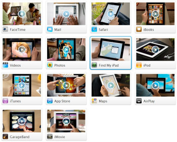 Apple posts 14 videos online to guide you through the iPad 2 features