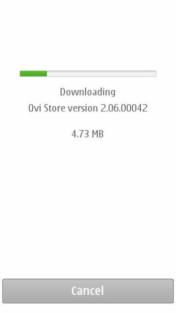Nokia users with Symbian ^3 or S60 powered phones will receive an update for the Ovi Store