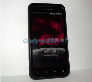 The HTC Droid incredible 2 will not offer a connection to Verizon's 4G network - HTC Droid Incredible 2 poses for the camera wearing the Verizon brand