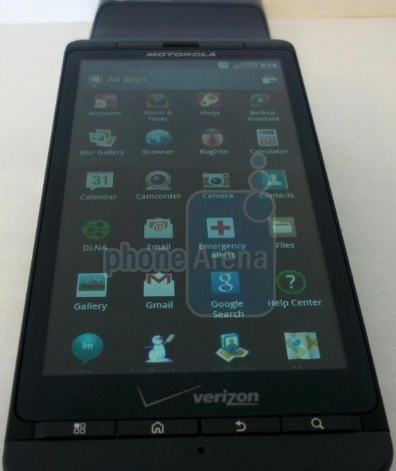 Motorola DROID X 2 - Motorola DROID X 2, DROID 3, and Targa to come after the BIONIC