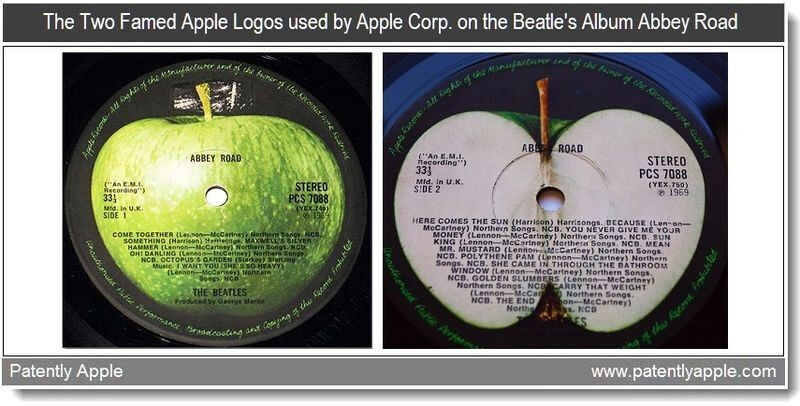 Beatles' Abbey Road covers - Apple files patents for logos used by the Beatles