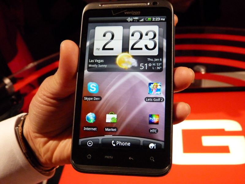 HTC ThunderBolt is the first 4G LTE handset to appear on Verizon - HTC ThunderBolt is officially Verizon's first LTE handset, come March 17th