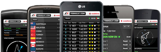 Formula 1 to release an updated app, Android version in the works
