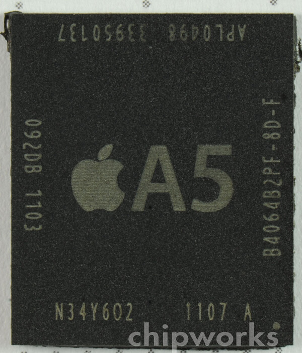 XRays show that the A5 chip used in the current iPad 2 units are manufactured by Samsung - X-Ray of Apple iPad 2 shows A5 chips built by Samsung