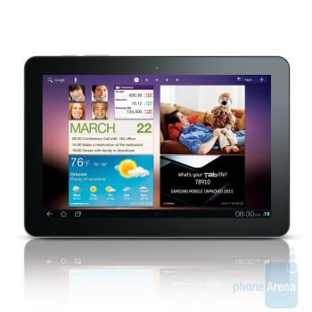 Samsung doesn't bend under pressure, reworks the Galaxy Tab 10.1 to make it thinner than the iPad 2