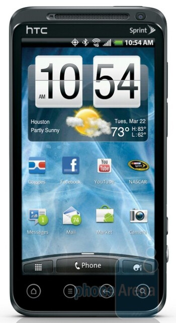 Sprint strikes back with the HTC EVO 3D