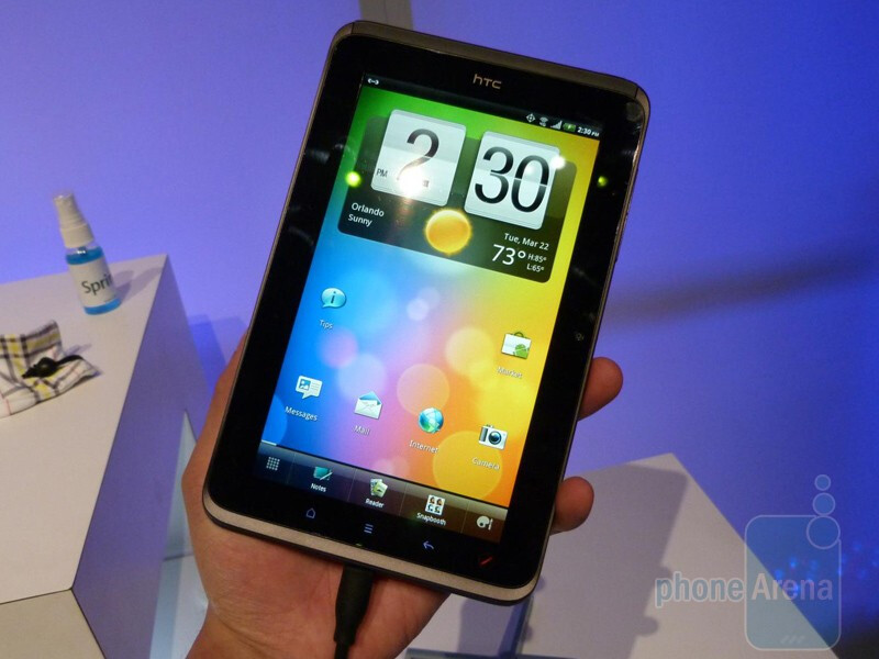 We like the overall design and quality of the HTC EVO View 4G - HTC EVO View 4G Hands-on