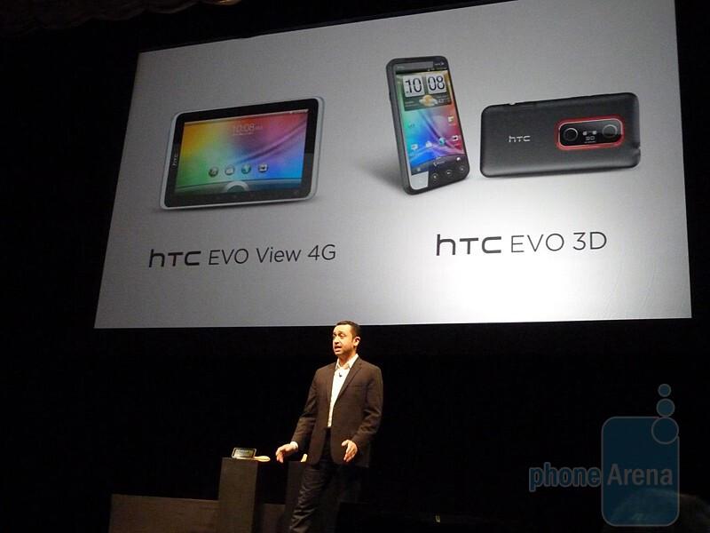 HTC EVO View 4G Hands-on