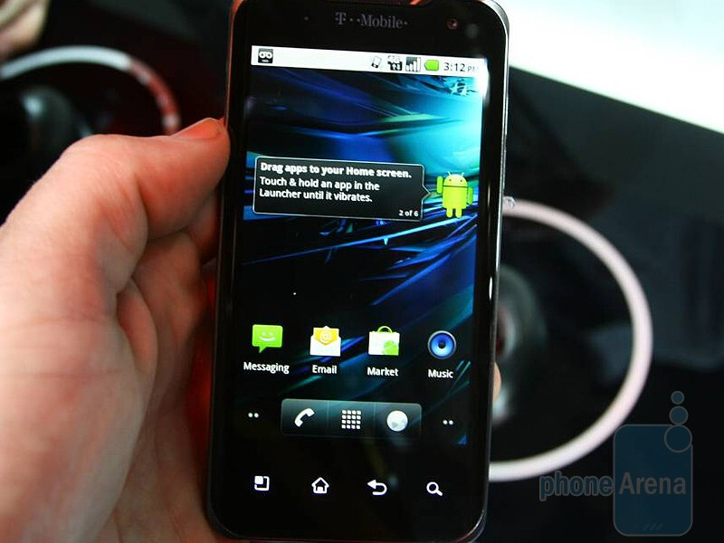 T-Mobile G2x Hands-On