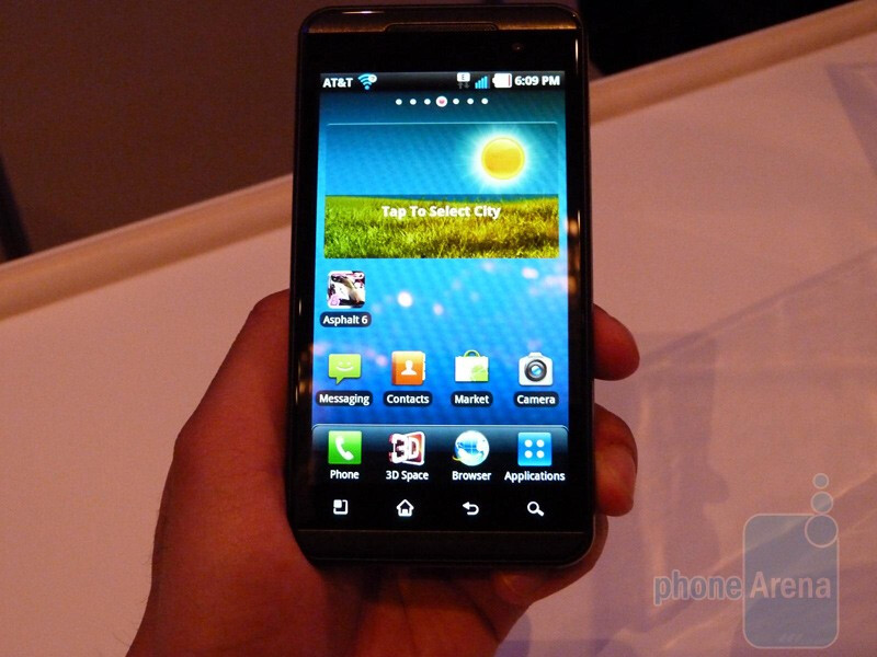 LG Thrill 4G Hands-on