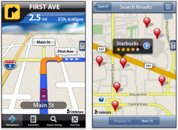 TeleNav is offering iPhone 4 users a free 30 day  trial of advanced navigational features