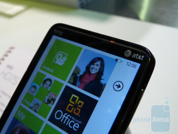 HTC HD7S Hands-on
