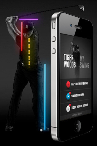 Tiger Woods develops an instructional swing app